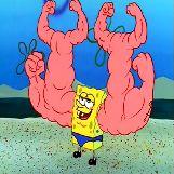 SpongeBob Squarepants Has Muscles