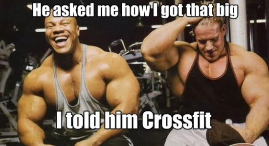 He Asked Me How I Got That Big.. I told Him Crossfit