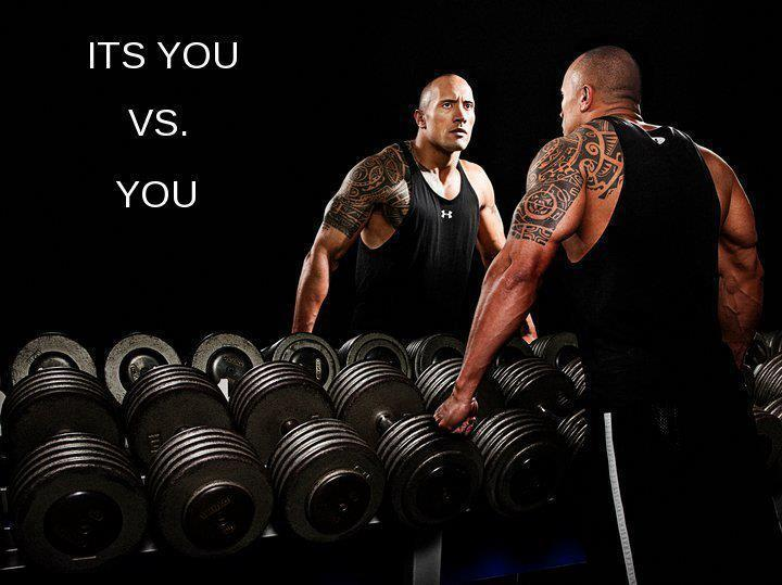 Its You VS You