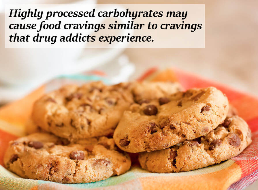 Processed Carbs Can Increase Food Cravings