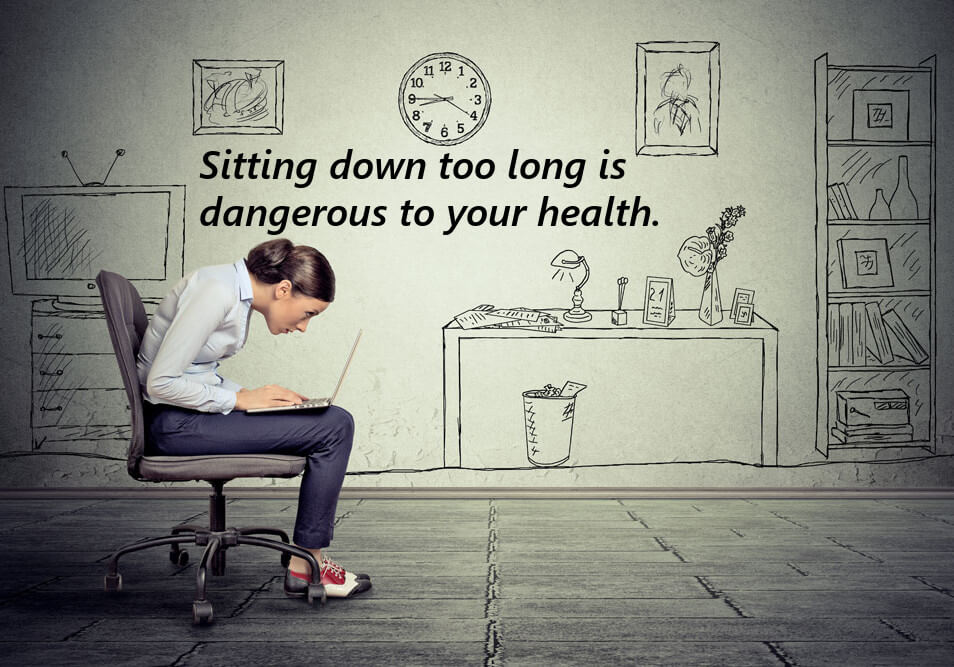 The Danger of Sitting Down
